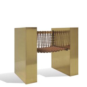 Baman Brass Chair