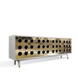 Marseilles Buffet - Goatskin/Brass