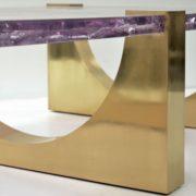 Aqueduct Coffee Table (LG) – Ice-Resin