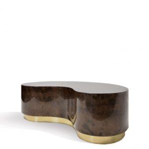 Fagiolo Coffee Table - Goatskin