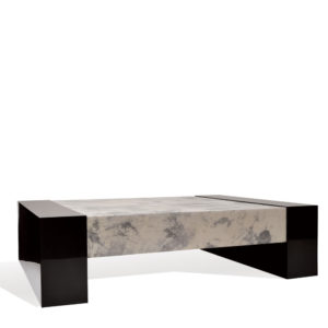 Scatola Coffee Table - Goatskin/Lacquer